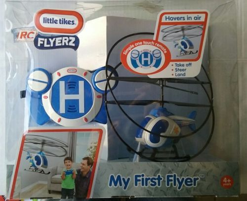 Child Size 2574 Little Tikes My First Flyer Helicopter Rc Remote