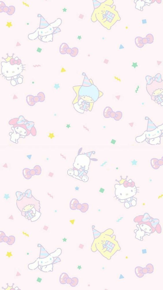 Cute Background Hello Kitty Iphone Wallpaper Hello Kitty Backgrounds Hello Kitty Wallpaper Iphone hello kitty aesthetic wallpaper