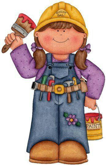 Female carpenter clipart - photo#1
