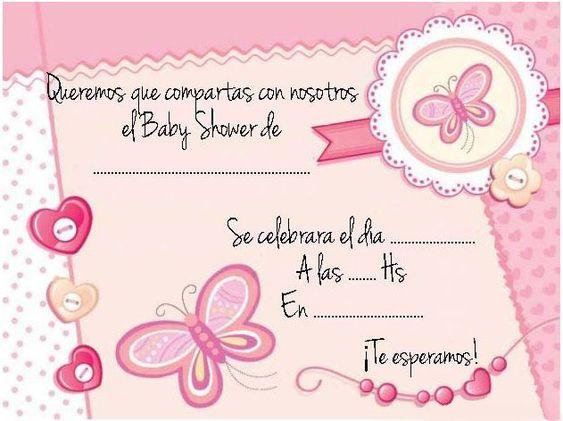 Modelos de invitación para Baby Shower - Dale Detalles