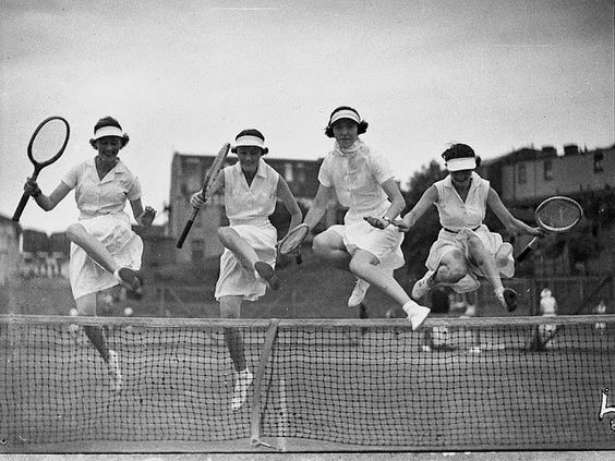 photo: #tennis ladies www.ruemarcellin.com original vintage posters and prints housesforsalesantabarbara.com
