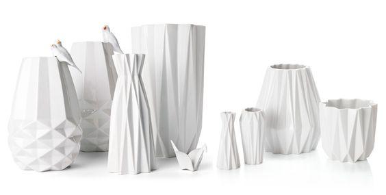 Mini Vase 'Origami' - S.W.W.S.W.
