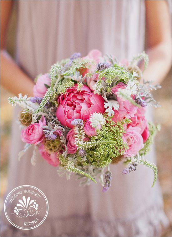 Pink And Lavender Bouquet: Pink Bridesmaid, Lavender Wedding, Pink Bouquet