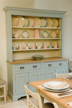 Duck egg blue dresser - dreaming of this!