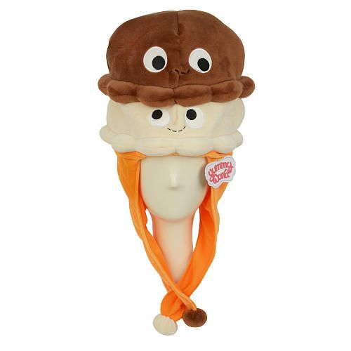"Yummy World - Plush Hat - Double Scoop Ice Cream ""Double Scoop Twins"" - NECA - Toys ""R"" Us"