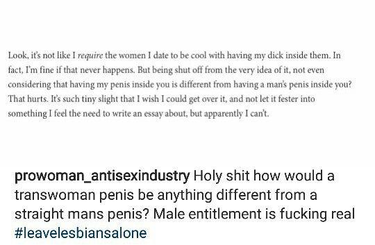Leave Lesbians Alone Radical Feminism Misogyny