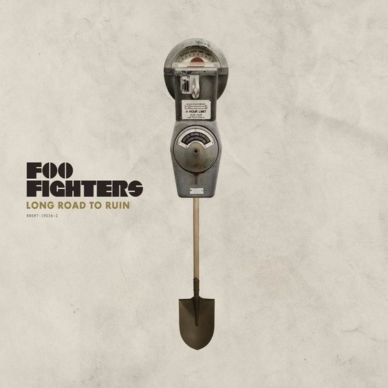 Foo Fighters – Long Road to Ruin (single cover art)