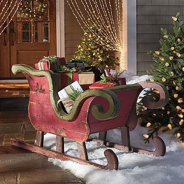 Artisan Sleigh Christmas Pinterest Woods Nice And