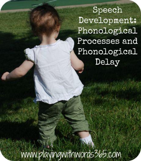 Phonological development in children essay