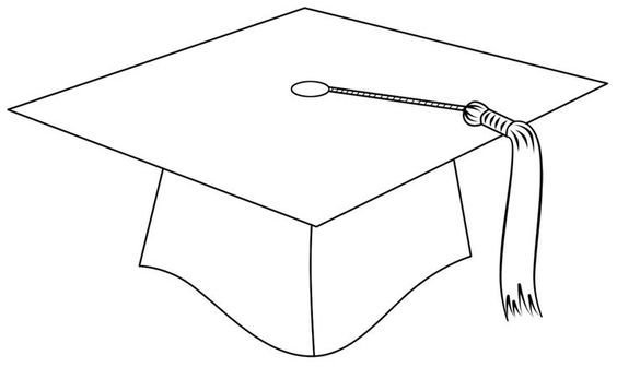 Epic image with graduation cap template printable