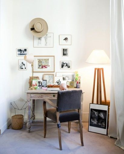 128 best Desk - Le bureau images on Pinterest Bureaus, Cottages