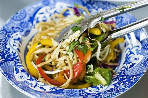 asian noodle salad by thepioneerwoman. serious contender for the best salad ever!