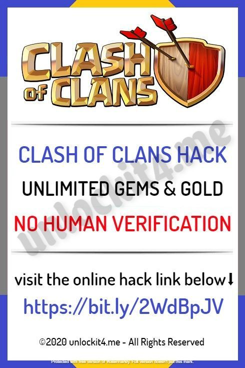 100 Working Clash Of Clans Hack Gems Generator No Human