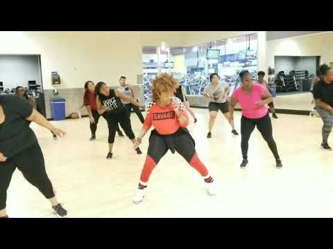 Brand New Ms Tee Magnolia Shorty Laweziana Dance Fitness Youtube Dance Workout Dance Fitness