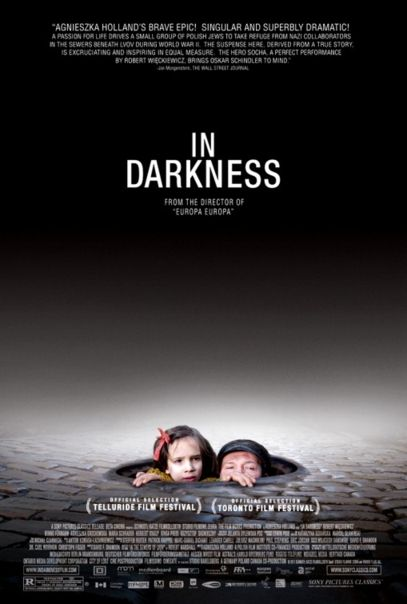 """""""In Darkness"""" starts March 23rd at The Maple.  Nominated for Best Foreign Film at the 2012 Oscars."""