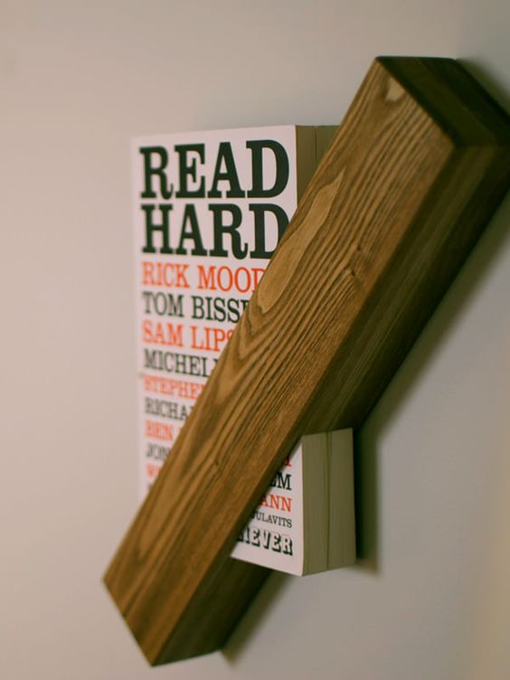 La bibliothèque individuelle et minimaliste de Said the King ou comment mettre en valeur vos livres preferés