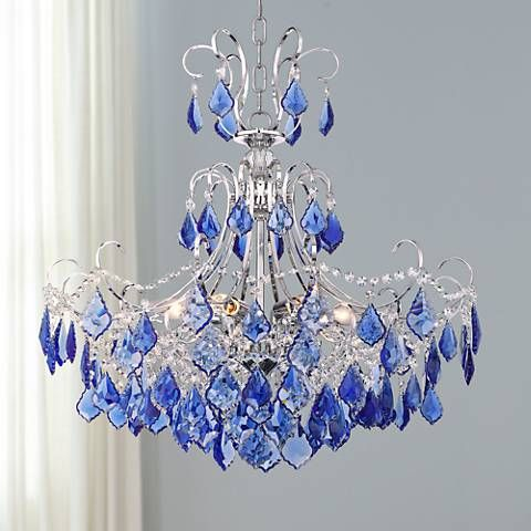 Blue Chandelier Light Bulbs