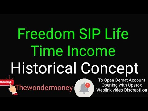 Icici Prudential Freedom Sip Freedom Sip New Concept Youtube In 2020 Freedom Concept Historical Concepts