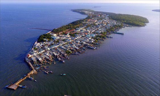 Xã đảo Thạnh An thuộc huyện Cần Giờ - Ảnh: Lê Mạnh Linh