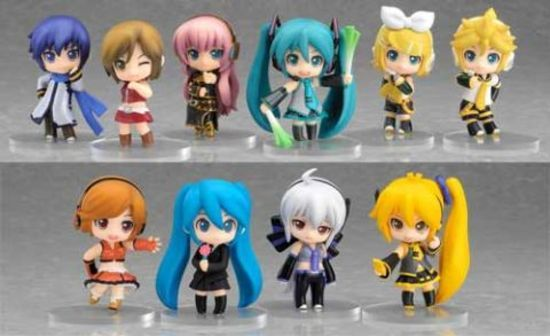 Nendoroid Petit: Vocaloid Series 1 Trading Figure (Display of 12)