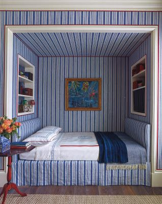 Katie Ridder bedroom in a house in the country via architect design™: