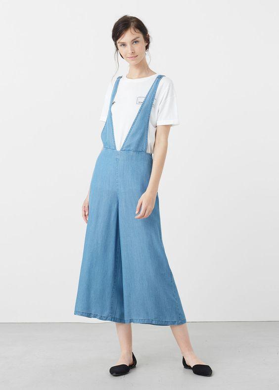Soft fabric jumpsuit | MANGO