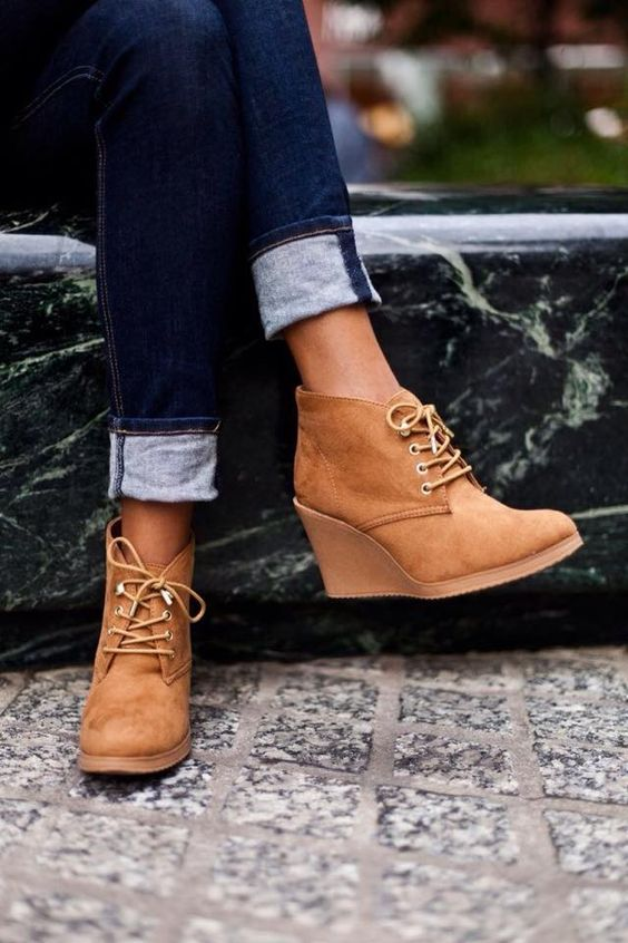 Winter ankle boots are so much better then regular boots!