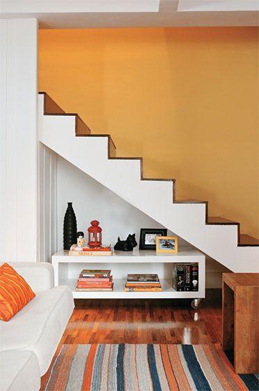 decorando embaixo da escada