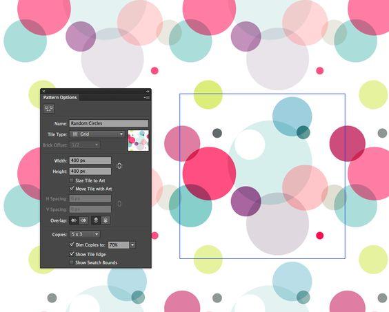 Creating Patterns in Illustrator! In Pattern Editing Mode in Illustrator CS6