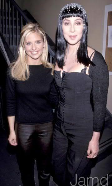 Cher and Sarah Michelle Gellar