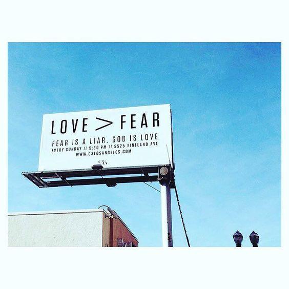 Dear Los Angeles Jesus loves you. ALL are welcome @c3losangeles #loveGodlovepeople by lynetteskee