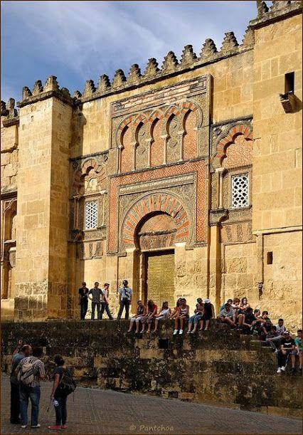 LUGARES CON ENCANTO DE ANDALUCIA: Preciosa vista de la Catedral Mezquita de Córdoba en España. Nº.-2.991 & José Pérez.