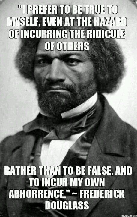 Why is reading Douglass' Narrative important to you?
