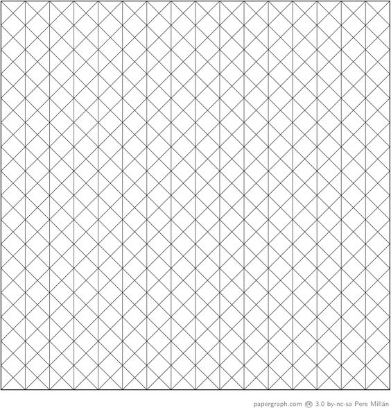 Isometric Graph Paper Grid  Portfolio And Cv    Template