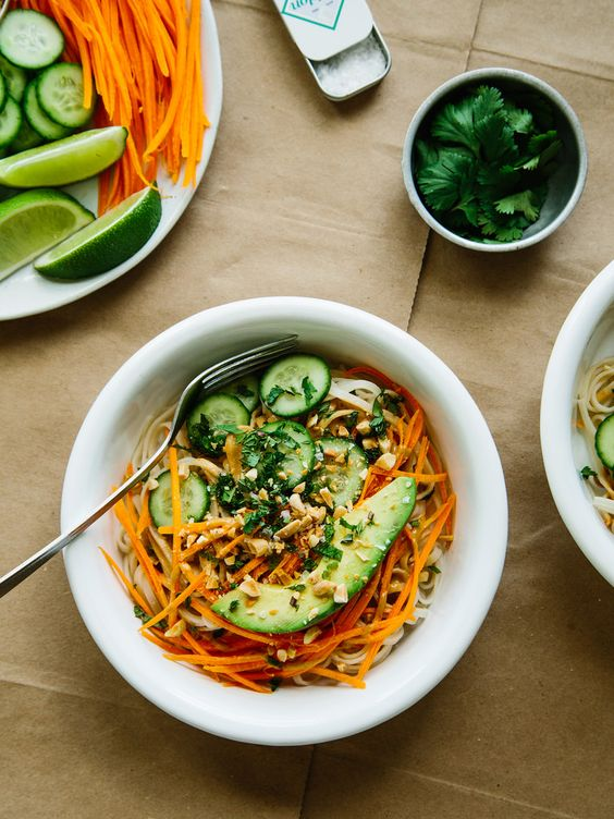 Deconstructed spring roll bowls | Vegan Recipes and Meals ...