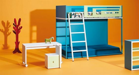Life box 07. Habitación infantil con litera vagón