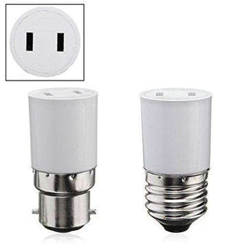 Ils B22 E27 Light Lamp Bulb Adapter Socket Holder Convert To Us Power Female Outlet Socket Holder Lamp Light Lamp Bulb