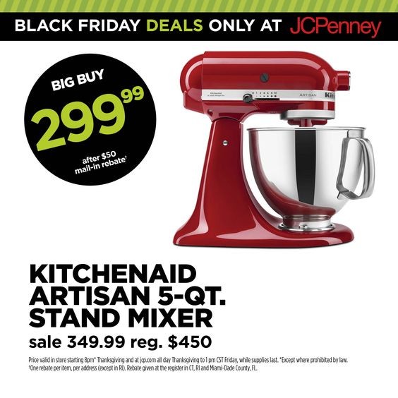 The @KitchenAid mixer on everyoneu0027s list, just $299.99 after