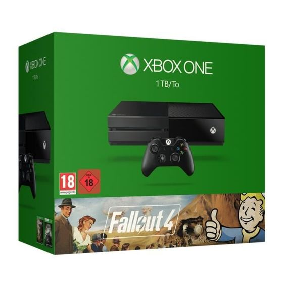 359.99 € ❤ En #Promo ! Le Pack : #XboxOne 1 To Noire + #Fallout4 + #Fallout3 ➡ https://ad.zanox.com/ppc/?28290640C84663587&ulp=[[http://www.cdiscount.com/jeux-pc-video-console/consoles/xbox-one-1-to-noire-fallout-4-fallout-3/f-1033917-889842018363.html?refer=zanoxpb&cid=affil&cm_mmc=zanoxpb-_-userid]]