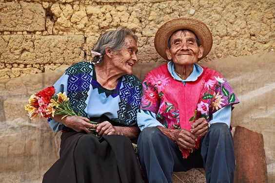 Rosita's Grandparents, Chiapas, Mexico - by Hal Robert Myers, USA