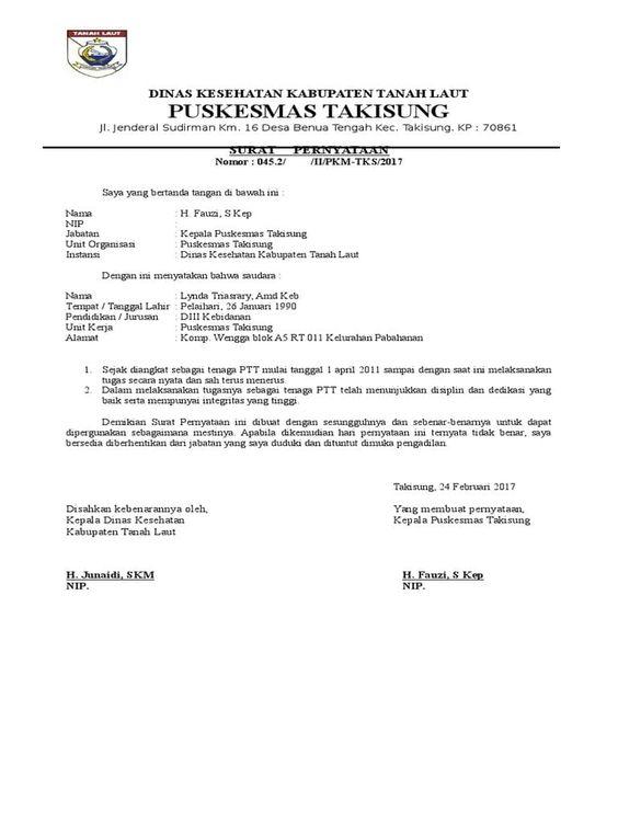 Contoh Surat Perjanjian Melaksanakan Tugas Surat Inspirasi Desain