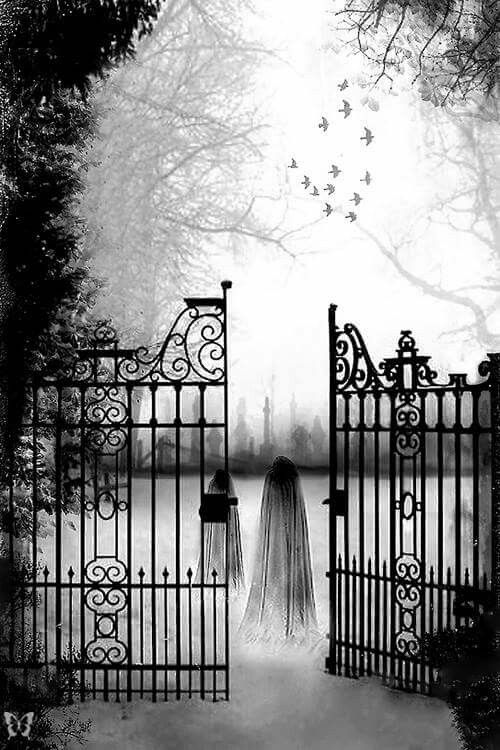 Through the gates ...