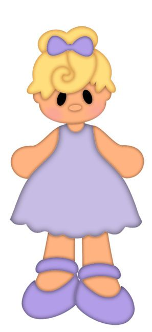 LITTLE GIRL CLIP ART