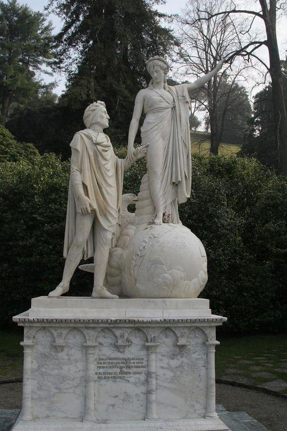Dante and Beatrice Bellagio Italy. Gabriels Inferno By Sylvain Reynard