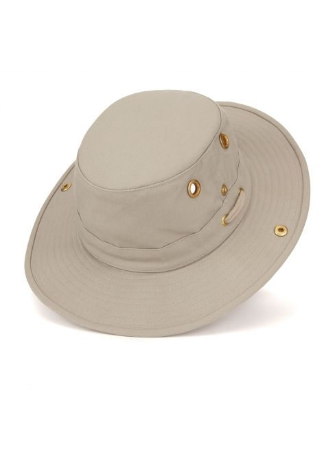 Tilley hat - The Tilley is the hat of choice for adventurers, thanks to its thoughtful design. The practical hat has a snap-up brim, adjustable chinstraps and an internal pocket for your travel documents. Guaranteed to last a lifetime, an old wives' tale tells how the hat is able to pass through an elephant in one piece and still be worn afterwards!