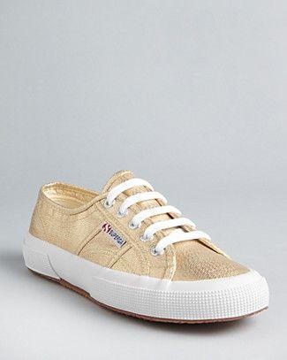 Superga Classic Lamé Sneakers   Bloomingdale's