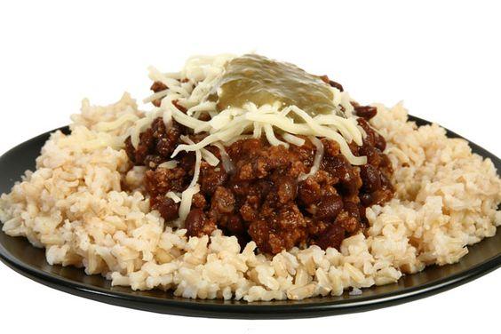 Quinoa with Bison Chili