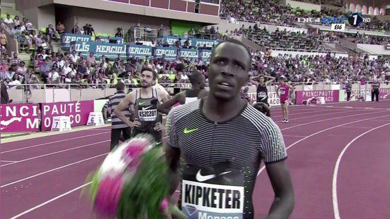 Alfred Kipketer 800m Men's HD Diamond League Monaco 2016