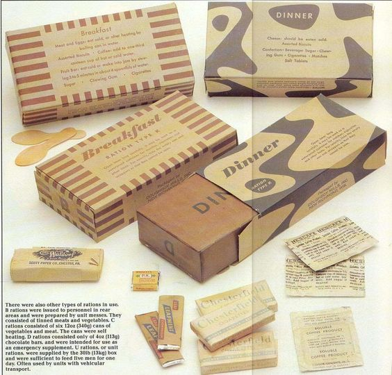 US Army Rations - World War II