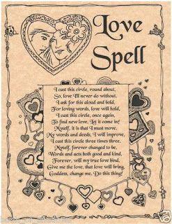 Free love cast a spell Love spells